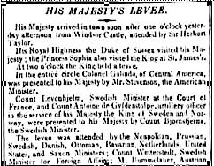 1836 Newspaper report
